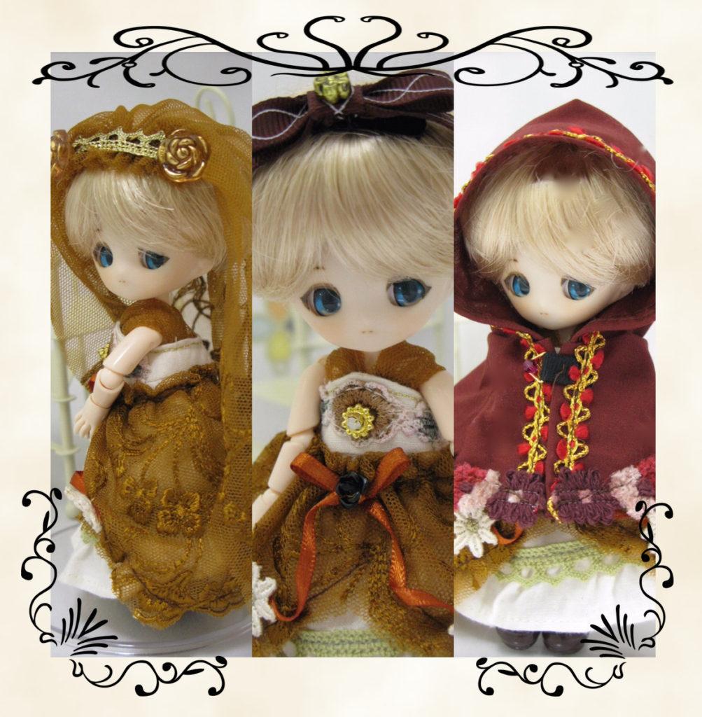 作品カード森の花嫁さん01